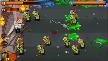 Angry Granny vs Zombies