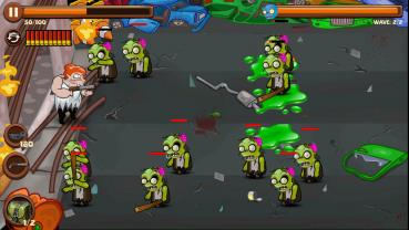 Angry Granny vs Zombies