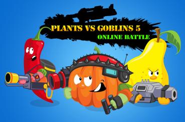 Plants vs Goblins 5 Online Battle